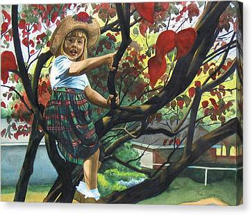 Kentucky Belle Canvas Print by Heidi E  Nelson