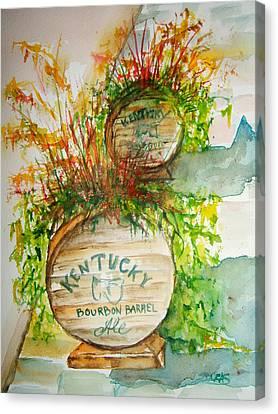 Kentucky Bourbon Barrels Canvas Print