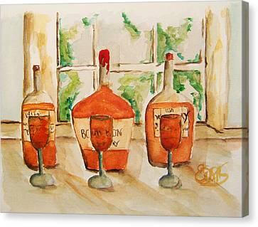 Kentucky Bourbon Sampler Canvas Print