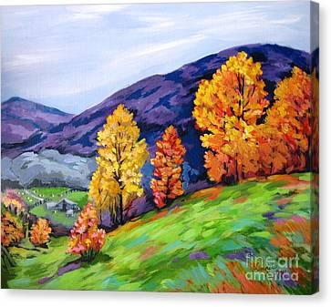 Kentucky Hillside Canvas Print