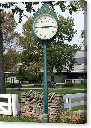 Kentucky Horse Park Canvas Print - Kentucky Horse Park by Roger Potts