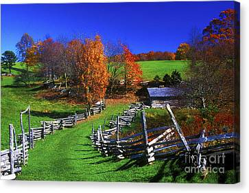 Kentucky Settlement Canvas Print by Paul W Faust -  Impressions of Light