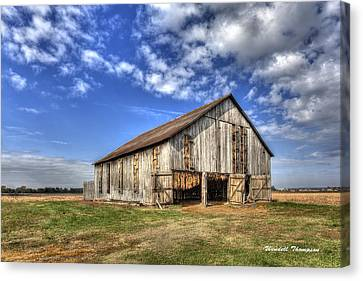 Kentucky Tobacco Barn Canvas Print
