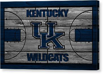 Dunk Canvas Print - Kentucky Wildcats by Joe Hamilton