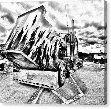 Kenworth Rig Canvas Print