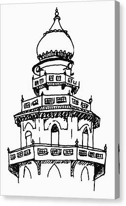 Kenya Indian Mosque Canvas Print by Granger