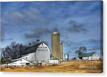 Kenyon Brothers Dairy Canvas Print by David Bearden