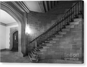 Kenyon College Peirce Stairway Canvas Print by University Icons