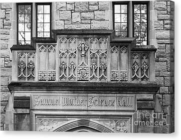 Kenyon College Samuel Mather Hall Canvas Print by University Icons