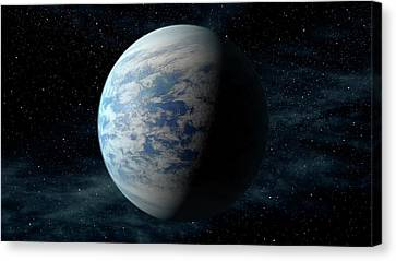 Goldilocks Canvas Print - Kepler-69c by Nasa/ames/jpl-caltech