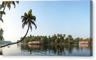 Kerala Backwaters Near Alappuzha Canvas Print