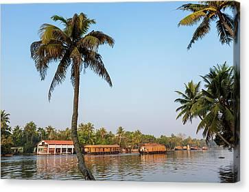 Kerala Backwaters Near Alleppey Canvas Print