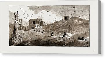 Astronomical Canvas Print - Kerguelen Island, The Transit Of Venus Second English by Litz Collection