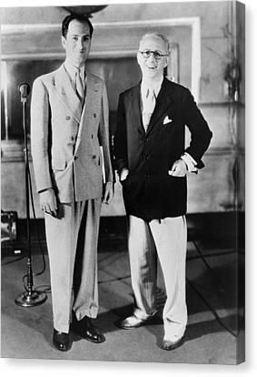 Gershwin Canvas Print - Kern & Gershwin, 1933 by Granger