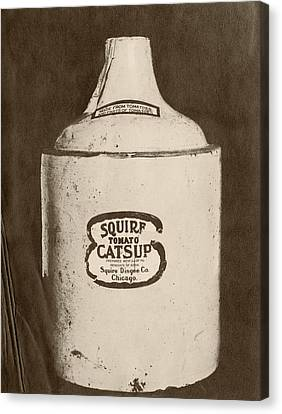 Ketchup Bottle Canvas Print by Us National Archives