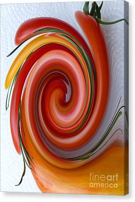 Ketchup To Be Canvas Print