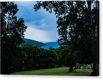 Finger Lakes Canvas Print - Keuka Lake From Esperanza by Steve Clough
