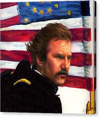 Kevin Canvas Print by Alessandro Della Pietra