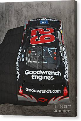 Kevin Harvick Goodwrench Chevrolet Canvas Print by Paul Kuras
