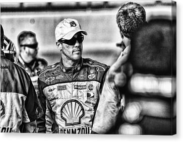 Kevin Harvick Nascar Canvas Print by Kevin Cable
