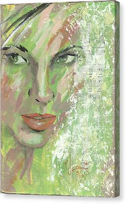 Key Lime Canvas Print by P J Lewis