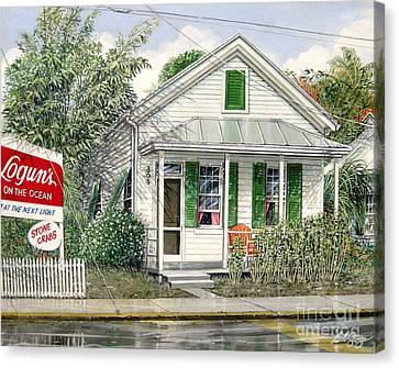 Key West 1955 Canvas Print by Bob  George