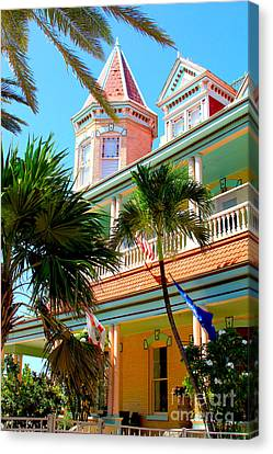 Kevin Canvas Print - Key West by Carey Chen