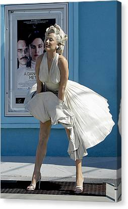 Key West Marilyn Canvas Print