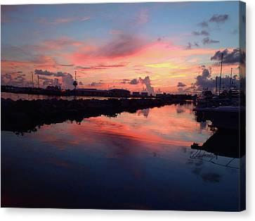 Key West Sunrise Canvas Print