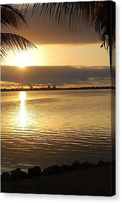 Key West Sunrise Canvas Print by Teresa Tilley