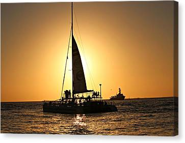 Key West Sunset Canvas Print by Jo Sheehan