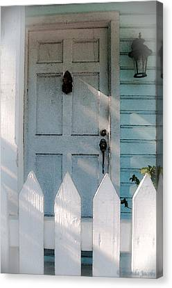 Key West Welcome To My Home Canvas Print