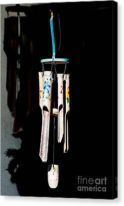 Chimes Canvas Print - Key West Wind Charm  by Ian Monk