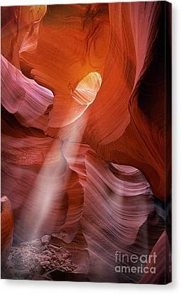 Keyhole Light Canvas Print by Inge Johnsson