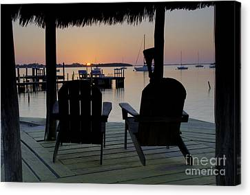 Keys Sunset Iv Canvas Print by Bruce Bain