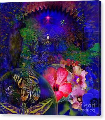 Solar Paradise Canvas Print