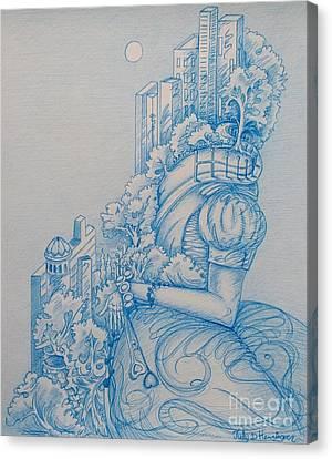 Keys To The City Canvas Print
