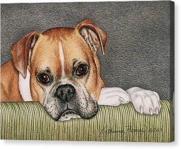 Keyva Canvas Print by Katherine Plumer