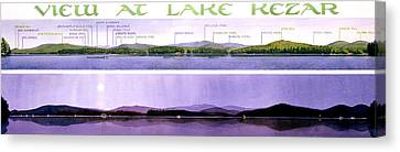 Kezar Lake View Canvas Print by Mary Helmreich