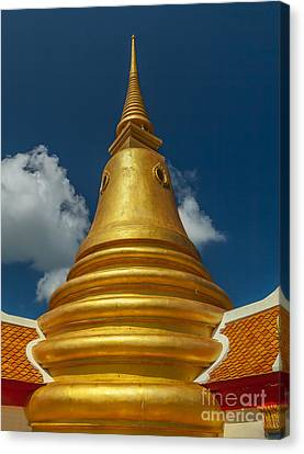 Khao Hua Jook Canvas Print by Adrian Evans