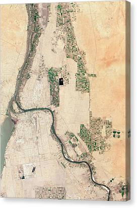 Khartoum Canvas Print by Nasa Earth Observatory