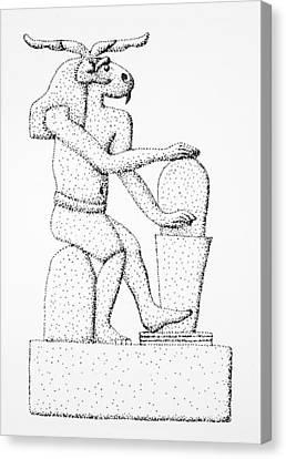 Khnum, 300 B Canvas Print by Granger