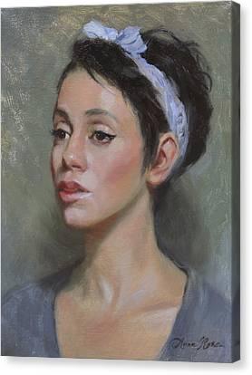 Kia Canvas Print by Anna Rose Bain