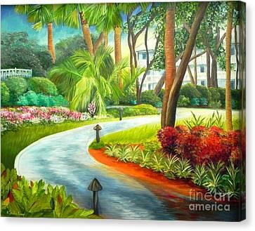 Kiawah Path - Kiawah Island Sc Canvas Print