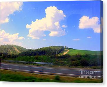 Kibbutz Community   Canvas Print