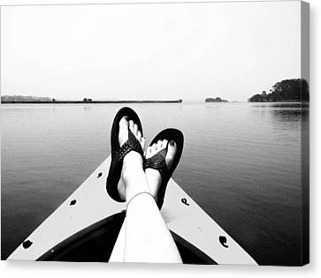 Kick Back Canvas Print