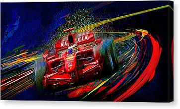 Kickin It With Kimi Canvas Print by Alan Greene