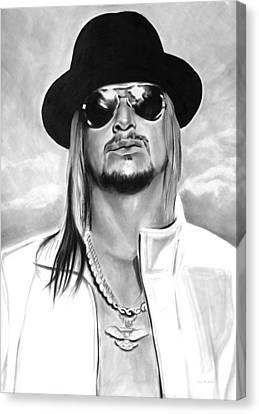 Celebrities Canvas Print - Kid Rock by Brian Curran