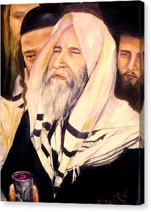 Kiddush Canvas Print