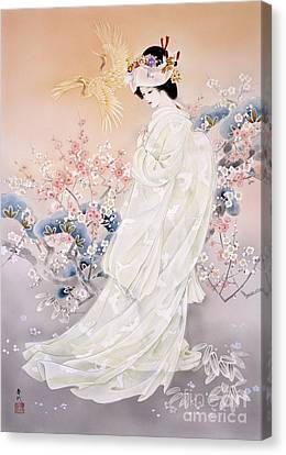 Entertainment Canvas Print - Kihaku by Haruyo Morita